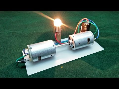 How To Make Generator Free Energy With Dc Motor 200% Free Energy Use Free Electricity