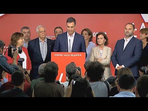 Mögliche Koalitionen in Spanien