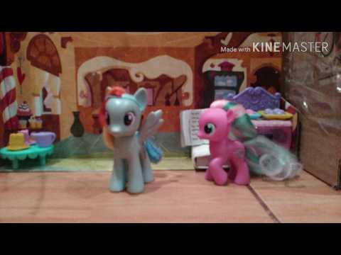 Мои подарки на день рождения пони и дракон