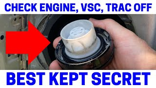 (Part 2) How To Fix Your Check Engine, VSC, Trac Off Warning Lights