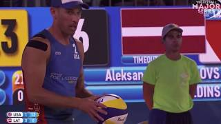 Beach Volleyball Rules - Overhead Pass/Hand Setting