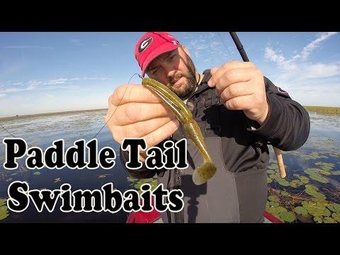Paddle Tail Swimbaits – Bass Fishing