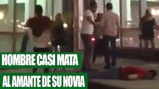 Hombre Encuentra a su Novia con Otro Hombre y Casi lo Mata || VÍDEO VIRAL 2016