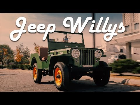 Jeep Willys CJ-2A - El primer vengador