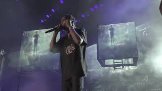 Sheck Wes Live Performance With Travis Scott (Governor's Ball 2018)