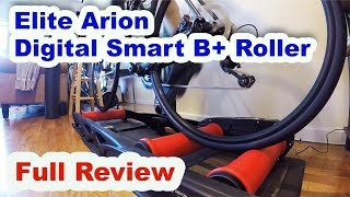 Are Cycling Rollers Crazy Hard?! | Elite Arion Digital Smart B + Roller Review