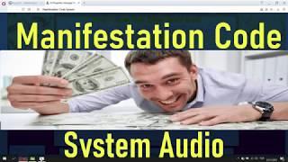 Manifestation Code PDF BOOK Audio FREE System Download