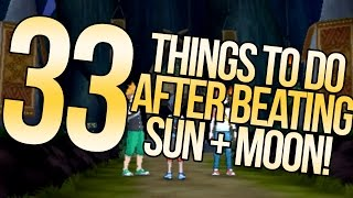 33 Things To Do Post-Story in Pokemon Sun and Moon   Austin John Plays