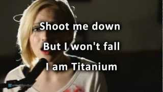 David Guetta - Titanium ft Sia cover by Madilyn Bailey with lyrics High Quality Mp3