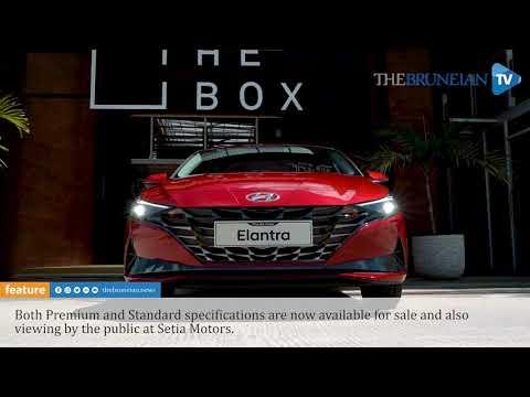 Hyundai Elantra: aggressive look, enhanced agility