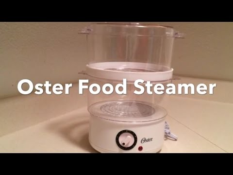 , Oster 5711 Electronic 2-Tier 6.1-Quart Food Steamer, White