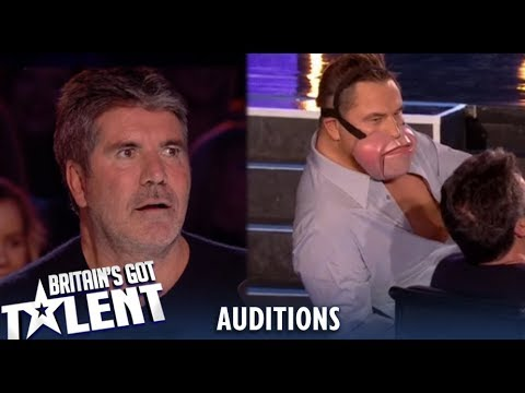 Jimmy Tamley: David STRIPS In Front Simon Cowell During Audition!! Britain's Got Talent 2019 (видео)