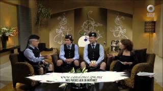 Conversando con Cristina Pacheco - Banda de Gaitas del Batallón de San Patricio