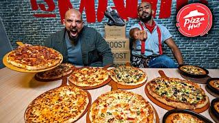 تحدي منيو كامل بيتزا هت جدة 🍕 Menu Challenge Pizza Hut Jeddah