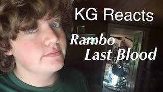 KG Reacts: New Rambo-Last Blood-Teaser Trailer