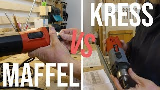 Kress vs Maffel   Fräsen im Test