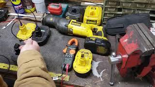 Revive your old dead 18 volt Dewalt battery trick