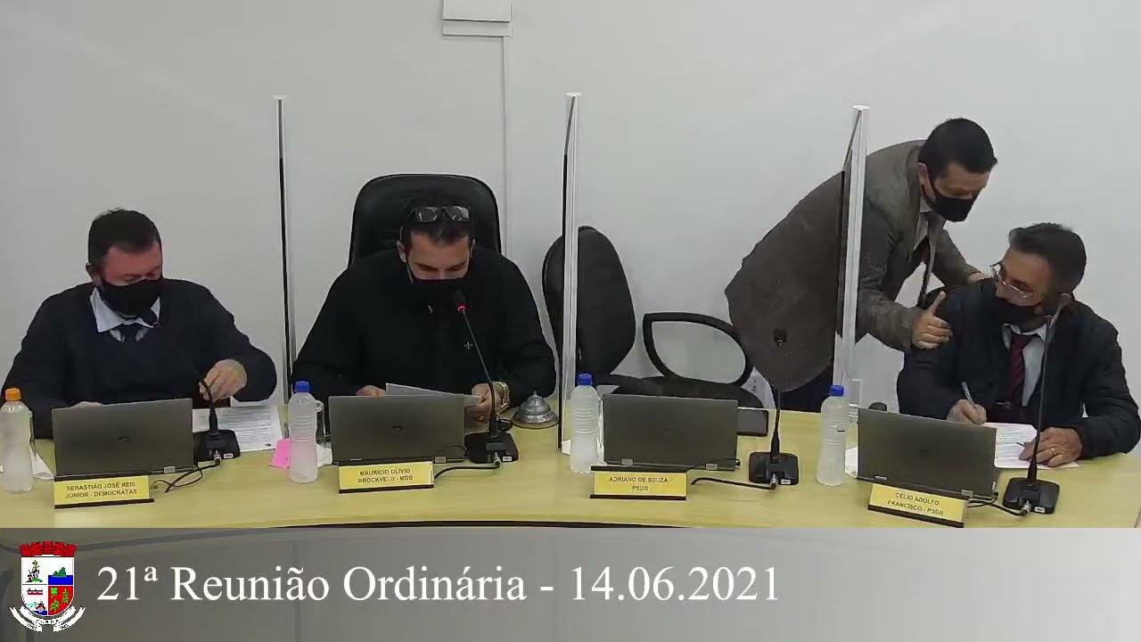 21ª Reunião Ordinária - 14/06/2021