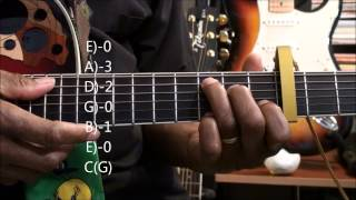 Guitar Chord Tutorial #220 How To Play Duck Song Style Chord Shapes EricBlackmonMusicHD