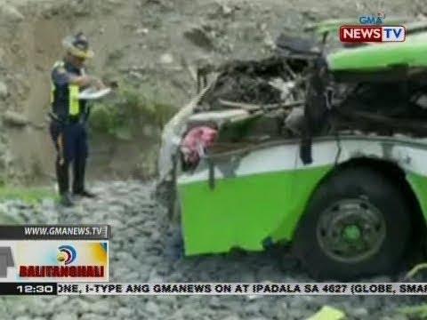 [GMA] BT: Mga kaanak ng ilang biktima ng pagkahulog ng isang bus sa bangin, nananawagan ng tulong