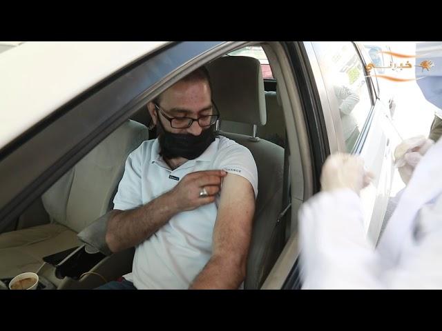 وزيرا الصحة والاقتصاد الرقمي يزوران محطة أورنج للتطعيم ضد كورونا