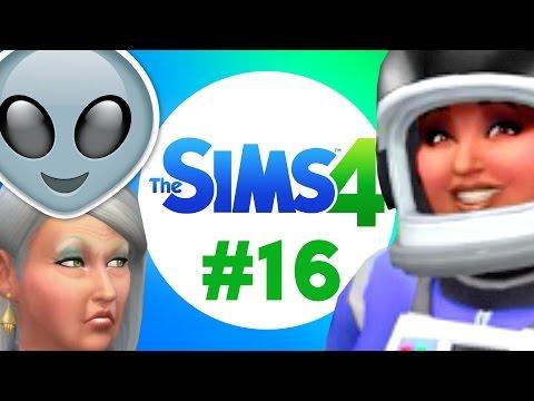 The Sims 4 - Duel s mimozemšťanem! | #16
