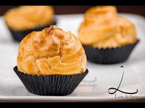 Video Cara Membuat Kue Sus Anti Kempes (Choux Pastry Recipe - (Eng Sub))