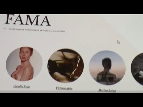 Presentación del colectivo FAMA en el Ateneo de Málaga