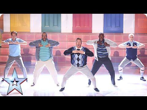 """המופע המכריע של קבוצת """"גברים מבוגרים רוקדים"""" הוא חגיגה של כישרון והומר!"""