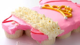 Easy BABY SHOWER Pull Apart Cupcake Cakes | Cupcake Decorating Ideas