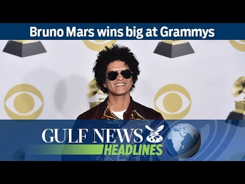Bruno Mars wins big at Grammys – GN Headlines
