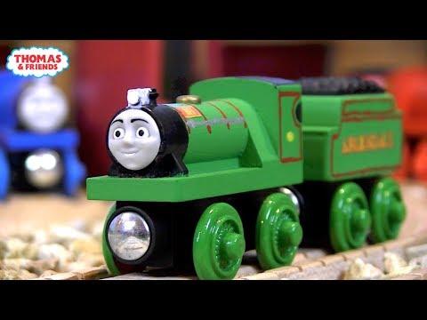 Rex the Miniature Engine | Custom Thomas Wooden Railway Model #2 by DomelessEngine