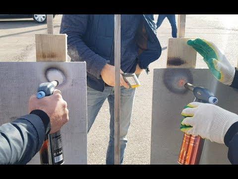 Обзор и тест-драйв огнём термозащиты Огнеупорофф. Честное сравнение магнезита и фиброцемента