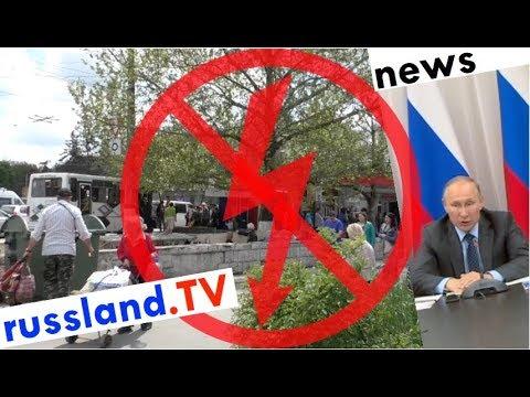 Russland: Massenstromausfälle werden Chefsache [Video]