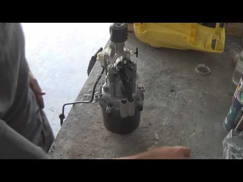 ремонт кёрхер к5.200. не набирает давление.
