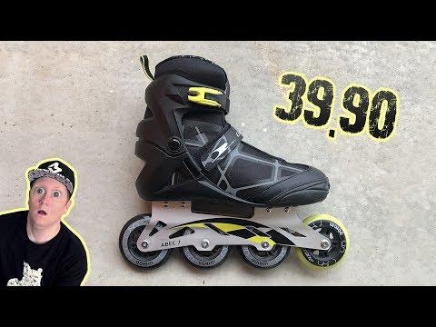 😱 Gefährliche Aldi Inline Skates (2019 | Test🇨🇭)