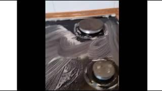 Грин Пин для фруктов очистит и стеклянную поверхность плиты (Сибирское здоровье)