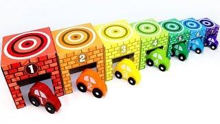 Aprende los Colores y Numeros - Video Educativo para Niños con Carros