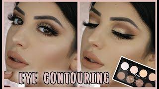 Perfektes Augen-Make-up mit einer NYX Contouring Palette? Tutorial | Alegra Lopez