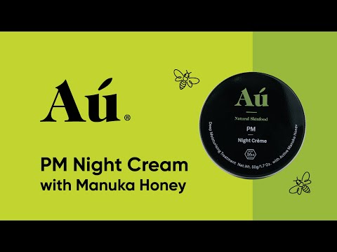 PM Night Cream with Manuka Honey