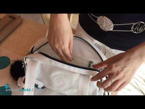 KIPLING Bowlingtasche Havi Nylon Paspelverstärkung Videopräsentation