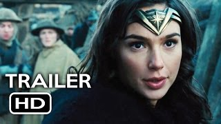 Wonder Woman Official Trailer 2 2017 Gal Gadot Chris Pine Action Movie HD