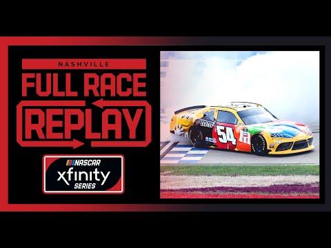 NASCAR Ally400(ナッシュビル・スピードウェイ)Xfinityクラスのレースフル動画
