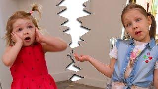 ПАПА ПОССОРИЛ НАС С СЕСТРОЙ!!! ПАПА, ЧТО ТЫ СДЕЛАЛ!!! Для детей for kids children funny video