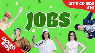 Bé học tiếng Anh về nghề nghiệp | [Trọn bộ 20 chủ đề từ vựng sách Let's go] [Lioleo Kids]