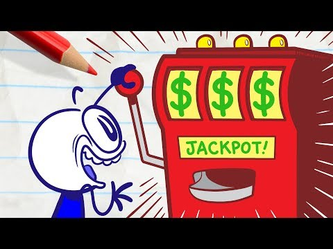 Will Pencilmate Get Lucky? -in- CLOVER THE TOP – Pencimation Cartoons for Kids