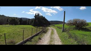 DJI FPV COMBO test video in panavision con blur