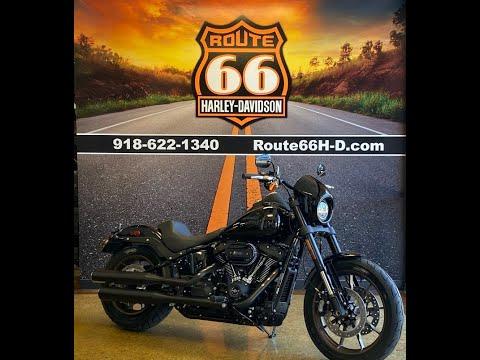 Vivid Black 2020 Harley-Davidson® Low Rider® S FXLRS