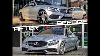 """SIFIR"" 0 Km Mercedes-Benz C180 Coupe"
