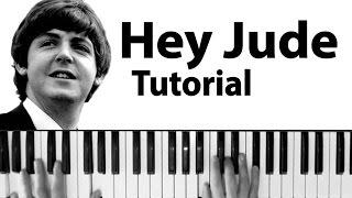 """Como tocar """"Hey Jude"""" (The Beatles) - Tutorial y partitura completa"""
